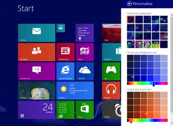 Microsoft Windows 8.1 'Blue' estará disponible en junio tras el lanzamiento durante Build