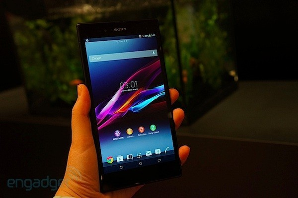 sony xperia z ultra video
