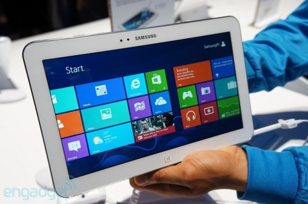Samsung ATIV Tab 3, un vistazo al tablet con Windows 8 más fino del mundo