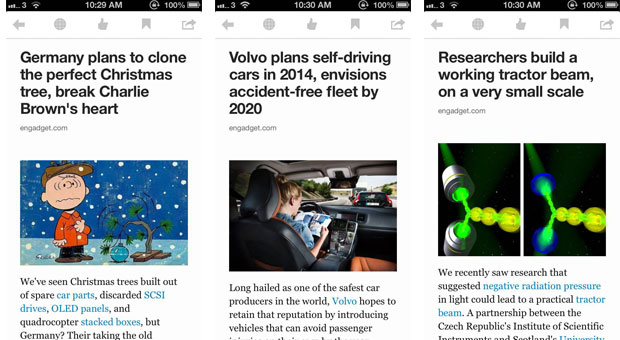 Digg Reader y su app para iOS ya disponibles