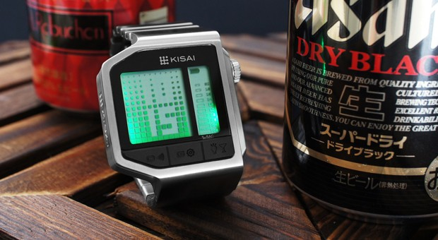 Kisai Intoxicated, el reloj de Tokyoflash con alcoholímetro incorporado (vídeo)