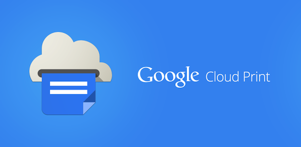 google cloud print oficial app