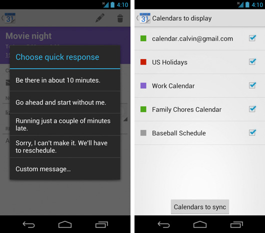 Google incluye notificaciones push a la API de Calendar