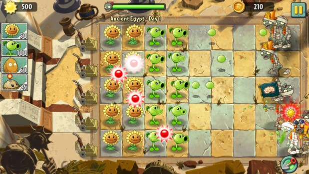 Plants vs. Zombies 2 echa raices en iOS a nivel internacional