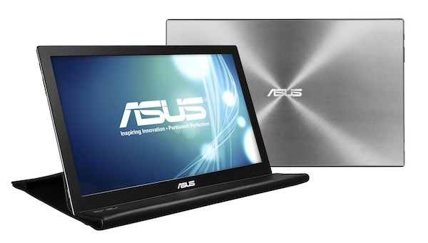 Asus mb168 monitor port til con cable usb 3 0 engadget - Monitor con porta thunderbolt ...