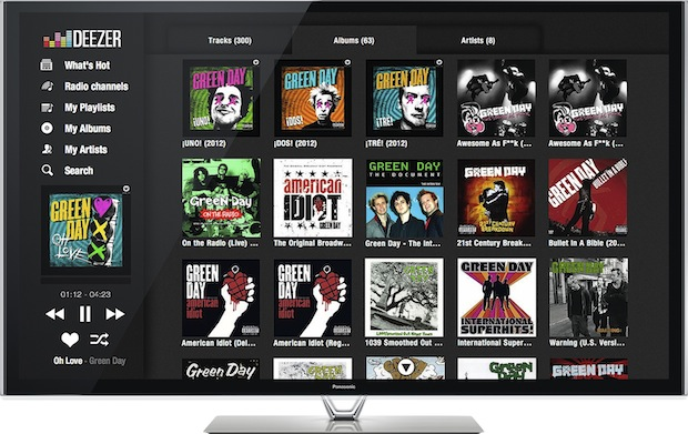 Deezer se centra en la Smart TV y llega a Panasonic y Philips
