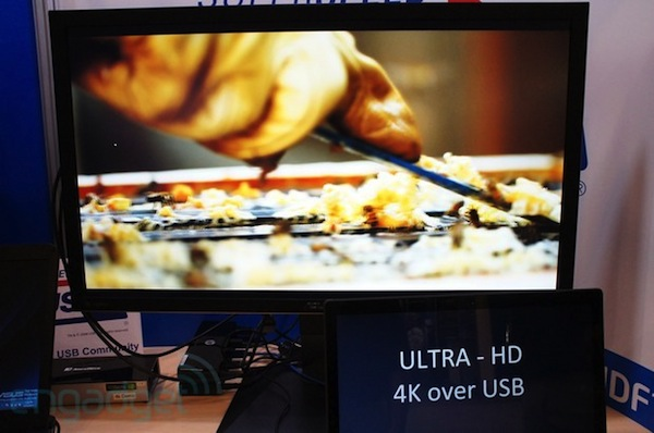 DisplayLink muestra un adaptador que transmite video 4K por medio de USB 2.0 y 3.0