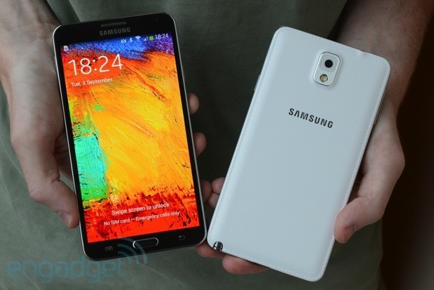 samsung galaxy note 3 comparativa
