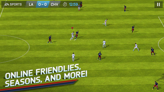 FIFA 14 disponible de manera gratuita en iOS y Android