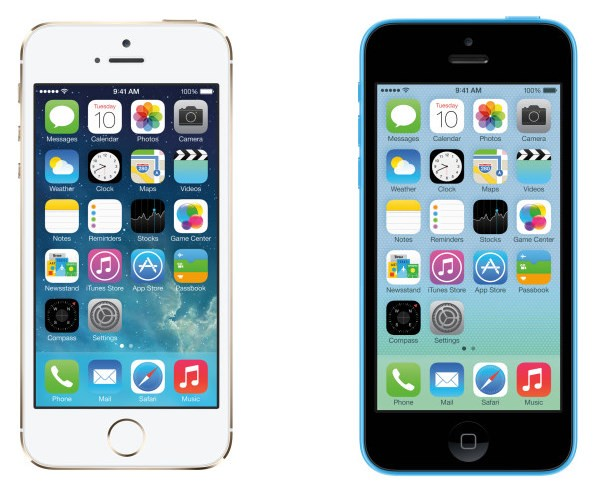 iPhone 5s vs iPhone 5c, similitudes y diferencias