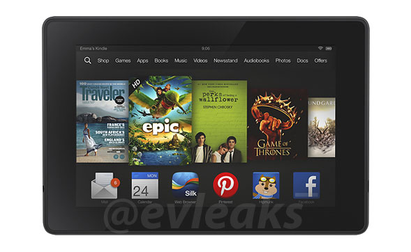 kindle fire render
