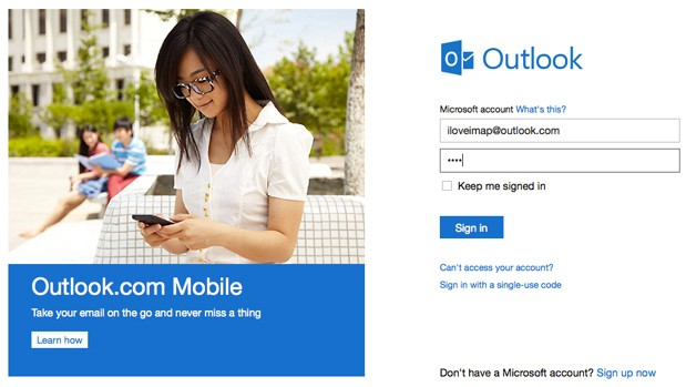 outlook.com IMAP