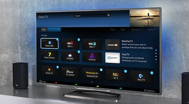 Philips presenta su servicio Cloud TV con el que retransmitir