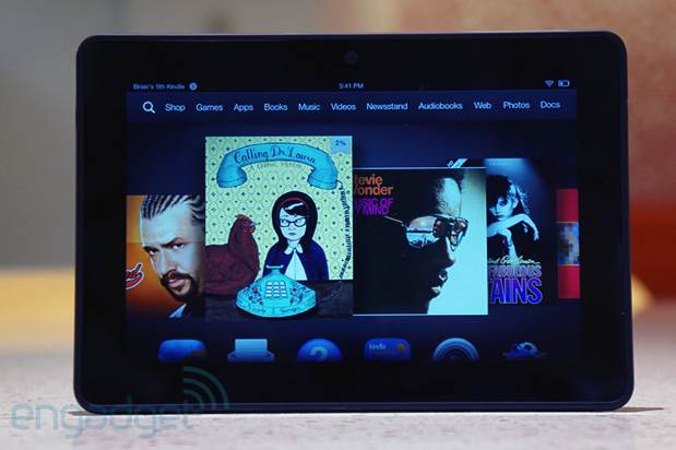 Amazon: 'Los bordes azulados del Kindle Fire HDX son completamente normales'