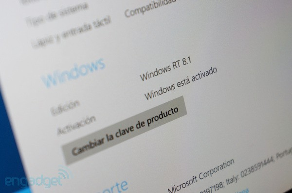 La actualización Windows RT 8.1 regresa por fin a la Windows Store