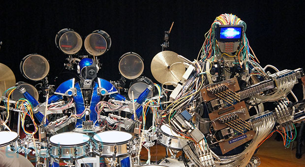 Z-Machines, la banda de rock robótica que anima la Maker Fair de Tokio (vídeo)
