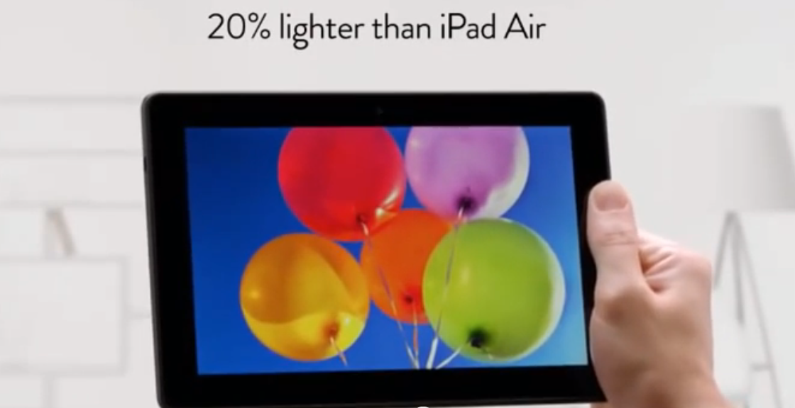 Kindle Fire HDX mete el dedo en el ojo al iPad Air en un incisivo anuncio (vídeo)