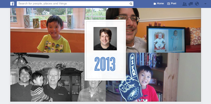 Facebook resume el 2013 por ti