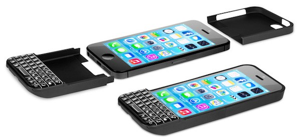 BlackBerry demanda a Typo por su carcasa-teclado para el iPhone