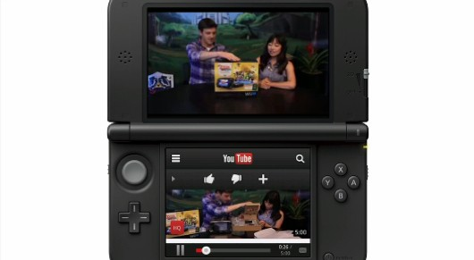 YouTube llega por fin a Nintendo 3DS (vídeo)