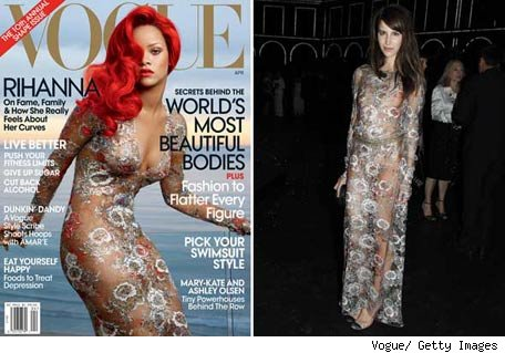 Rihanna vs. Caroline Sieber: A quin le queda mejor?