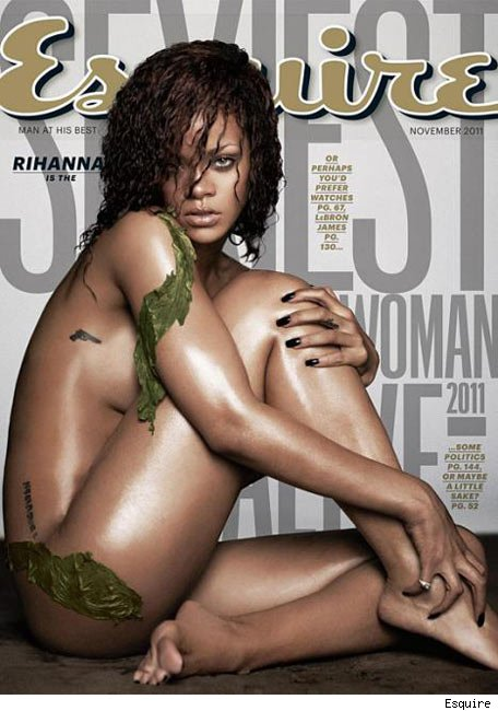 Rihanna se desnuda para la portada de Esquire - La mujer ms sexy