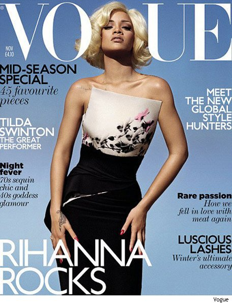 Rihanna en la portada de Vogue