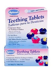 Retiran Tabletas para Dentición - Hyland's Teething Tablets