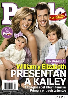 William Levy presenta a su hija Kailey