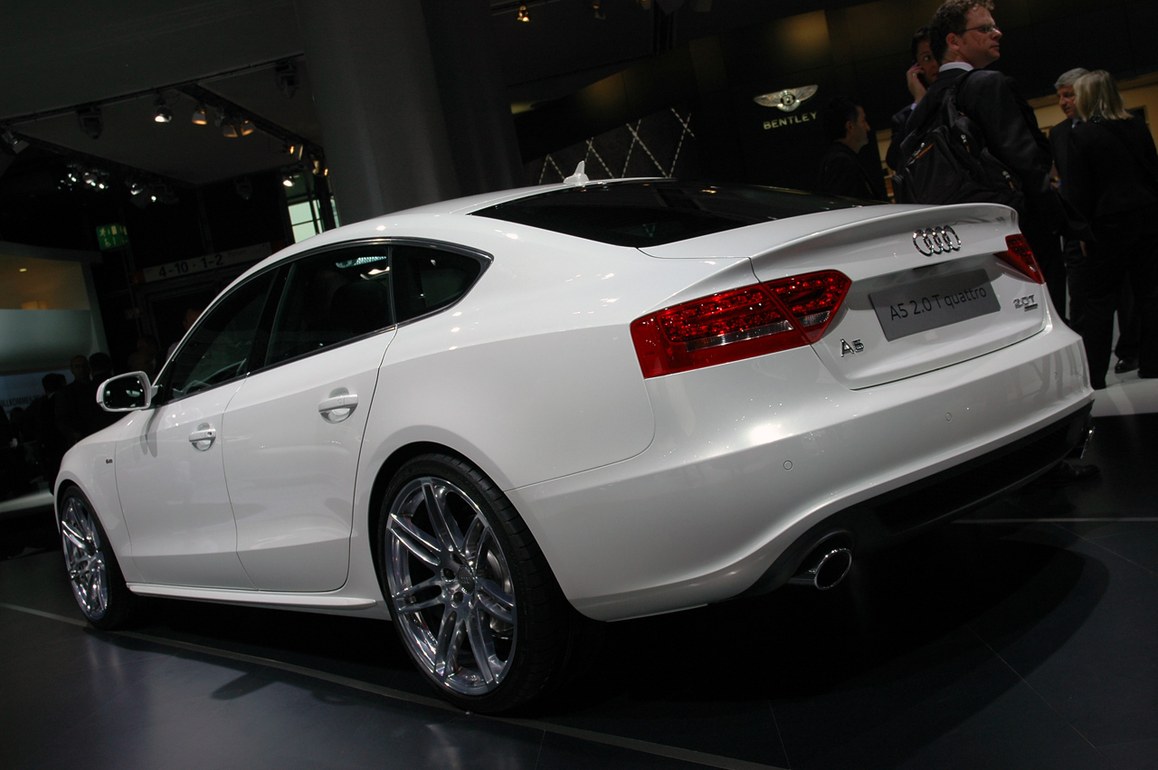 iaa frankfurt audi a5 sportback autoblog fr. Black Bedroom Furniture Sets. Home Design Ideas