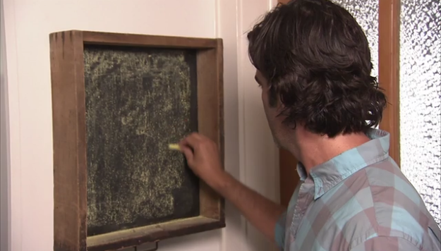 Step 5: Prep Your Chalkboard