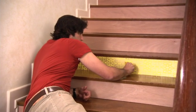 Step 3: Striking Staircase