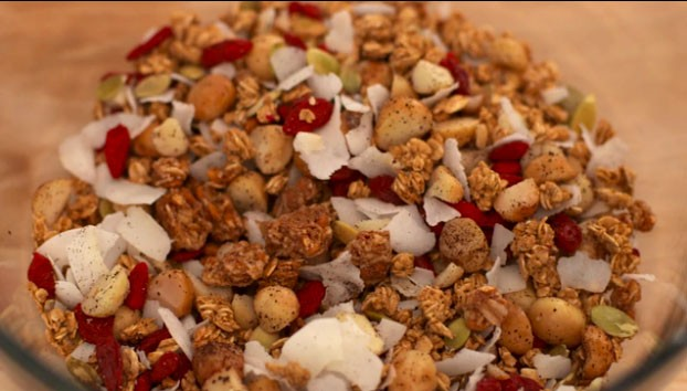 Step 4: Superfruit Granola