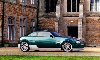 Obscure British car-maker Connaught introduces hybrid sports coupe