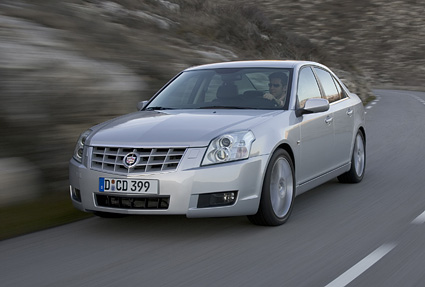 The new 2007 Cadillac BLS Sport model has just gone on sale in Europe to