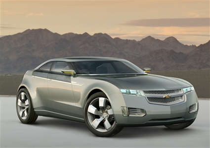 Auto Racing Rumors on Detroit Auto Show  It S Here  Gm S Plug In Hybrid Is The Chevy Volt