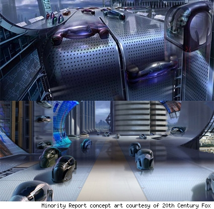 Minority Auto Racing on Battle Hardened  Robot Driven Cars By 2030