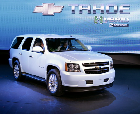 There S Considerable Anion In The Air For Arrival Of Gm Two Mode Hybrid System Company Fullsize Suv Lineup