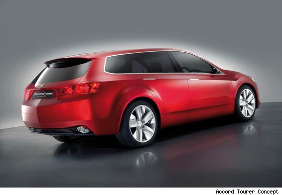 2007 Honda Accord Tourer Concept. Honda says the Accord Tourer