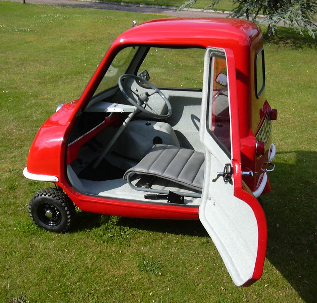The Peel P50 The One Car You Can Drive All The Way To Work Autoblog
