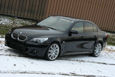 In the AutoblogGreen Garage: 2007 BMW 535d. Yes, it's a diesel!