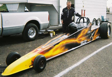 dragster world speed