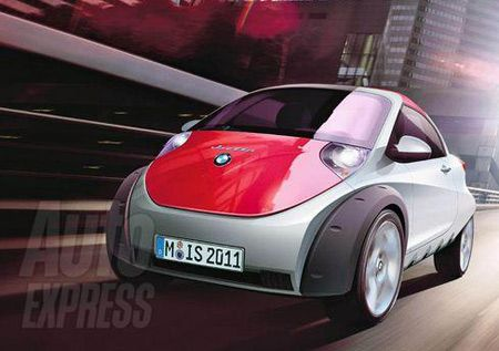 Smart  on Bmw To Challenge Smart With Isetta Brand
