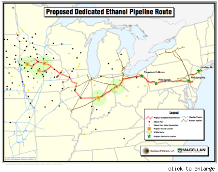 Holy Pipeline Batman Midwest To East Coast Route A