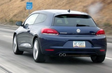 Spy Shots: Volkswagen Scirocco TDI spotted in California � Autoblog Green