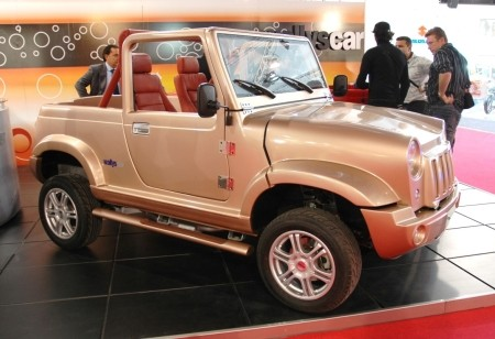 Paris 2008: Wallyscar to make electric Jeep-like vehicle
