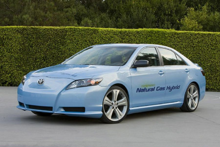 Of what, you ask? Of the Toyota Camry CNG Hybrid concept, which explores the