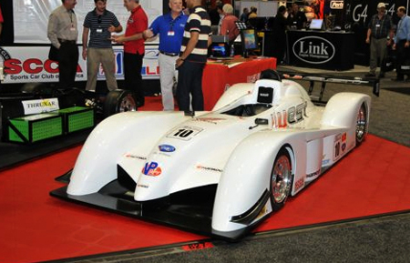sports race cars in auto shows