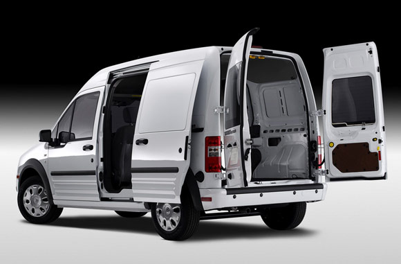 ford confirms transit connect ev with smith electric for 2010 autoblog. Black Bedroom Furniture Sets. Home Design Ideas