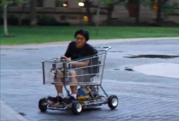 In The Future We 39 Ll All Be Driving Electric Shopping Carts